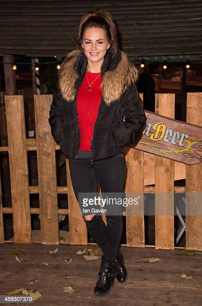 Kara Tointon attends the Winter Wonderland VIP opening at Hyde Park on November 20 2014 in London England