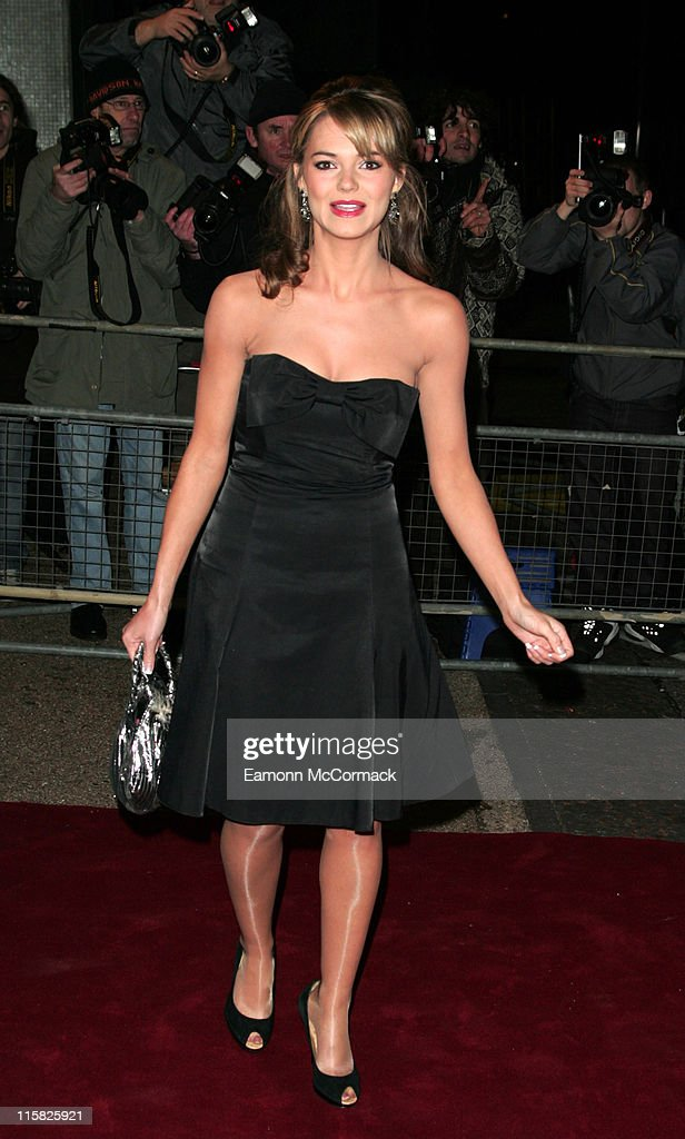 Kara Tointon during An Audience with Take That Arrivals at The London Television Centre in London Great Britain