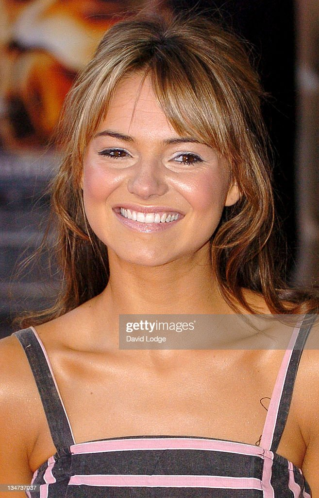 Kara Tointon during 'Stormbreaker' London Premiere at Vue West End in London Great Britain