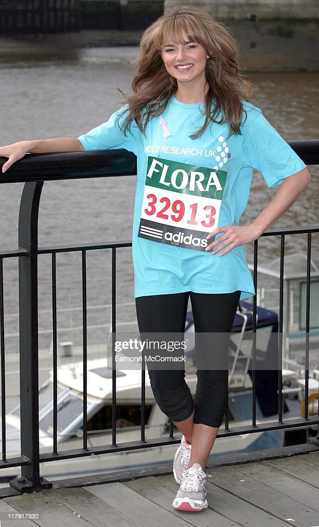 Kara Tointon during the 2007 Flora London Marathon Press Conference at the Tower Thistle Hotel London on April 20 2007