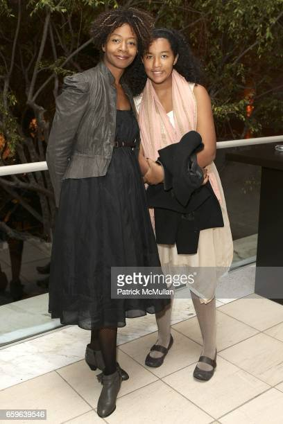 Kara Walker and Octavia Burgles attend GALA IN THE GARDEN at HAMMER MUSEUM on October 10 2009 in Westwood California