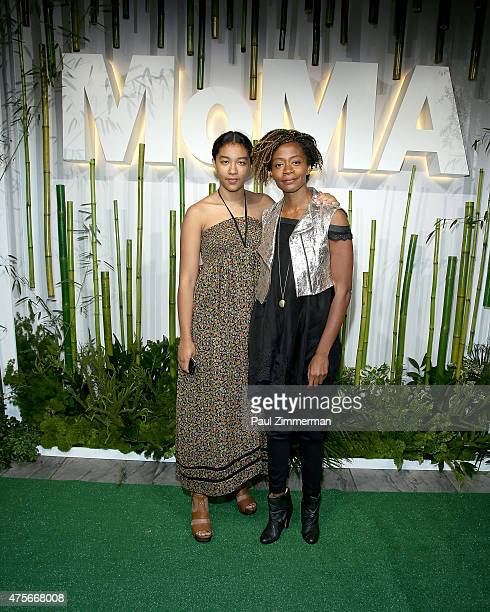 Kara Walker attends the 2015 Museum of Modern Art Party In The Garden and special salute to David Rockefeller on his 100th Birthday at Museum of...