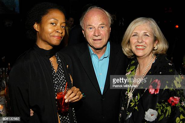Kara Walker James Rosenquist and attend BOMB Magazine Celebrates 26th Anniversary Spring Gala at The Park on April 17 2007 in New York City