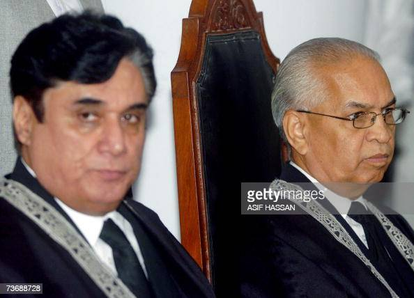 Outgoing acting chief justice of Pakista... Pictures ...