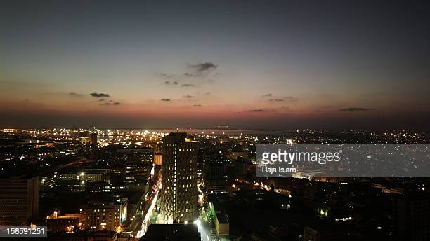 Karachi Skyline at night