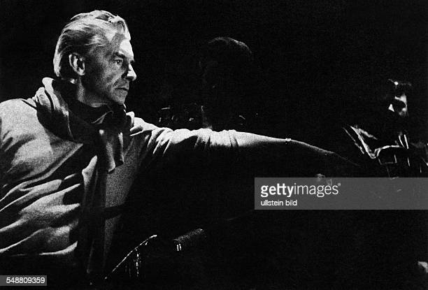Herbert von karajan fotograf as e im genes de stock getty images - Gevels herbergt fotos ...