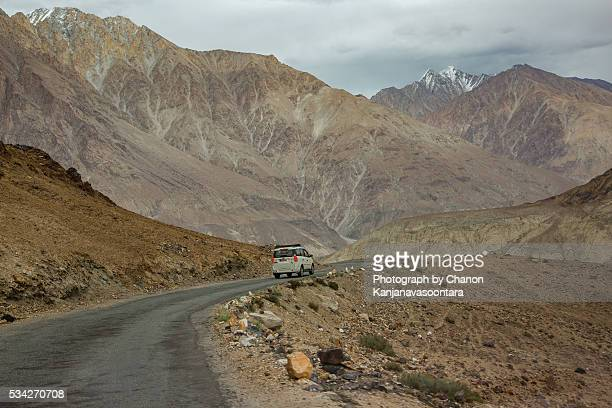 Karakoram highway and Himalayas  Range