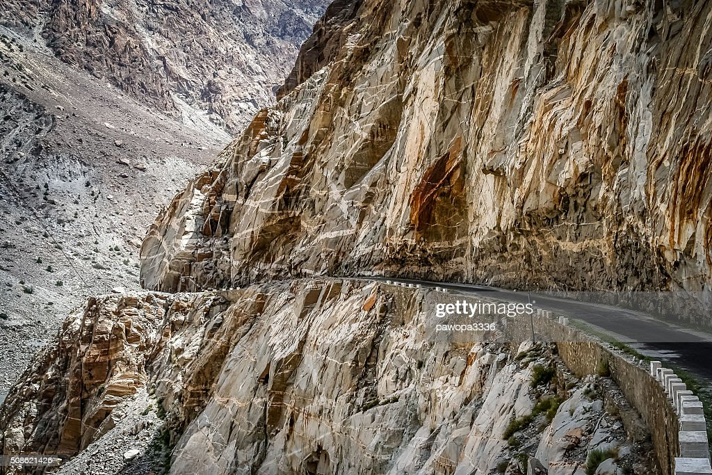 Karakorum Highway : Stock Photo