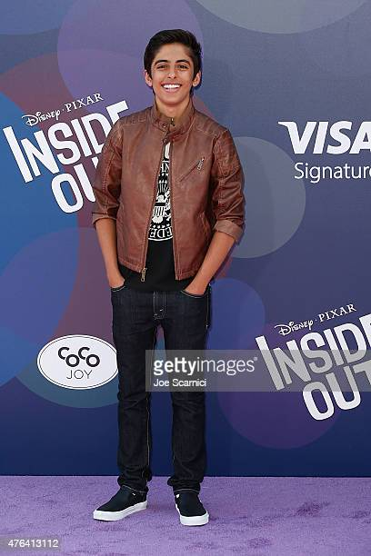 Karan Brar attends Disney/Pixar's 'Inside Out' Los Angeles Premiere at the El Capitan Theatre on June 8 2015 in Hollywood California