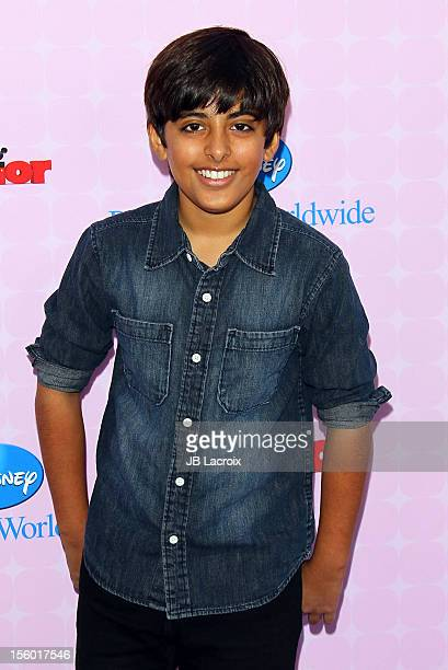Karan Brar attends the premiere of Disney Channels' 'Sofia The First Once Upon a Princess' at Walt Disney Studios on November 10 2012 in Burbank...
