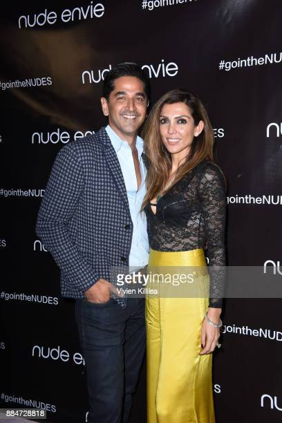 Karan Khanna and Priyanka Khanna attend Nude Envie Holiday/Launch Party Launching New Shades on December 2 2017 in Beverly Hills California