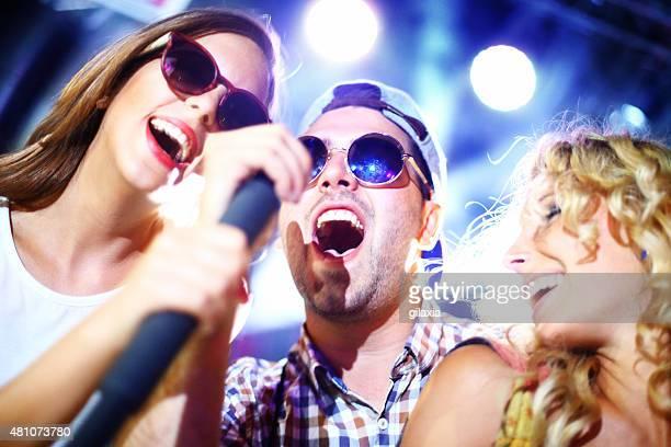 Karaoke competition.