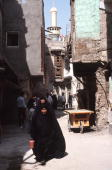 Karbala A street in the old city in October 1991 FDM8037