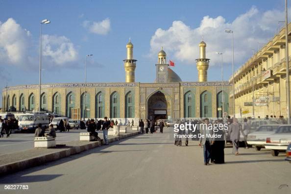 Karbala Mosque Abbas Shiite sanctuary in February 1991 FDM8321