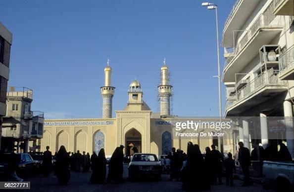 Karbala Mosque alHusayn in February 1991 FDM8302