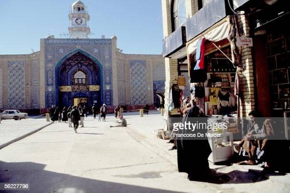 Karbala Mosque alHusayn in February 1991 FDM84020