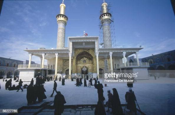 Karbala Mosque alHusayn in March 1991 FDM8345