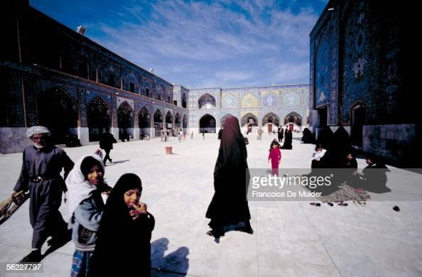 Karbala Mosque alHusayn in October 1991 FDM8414