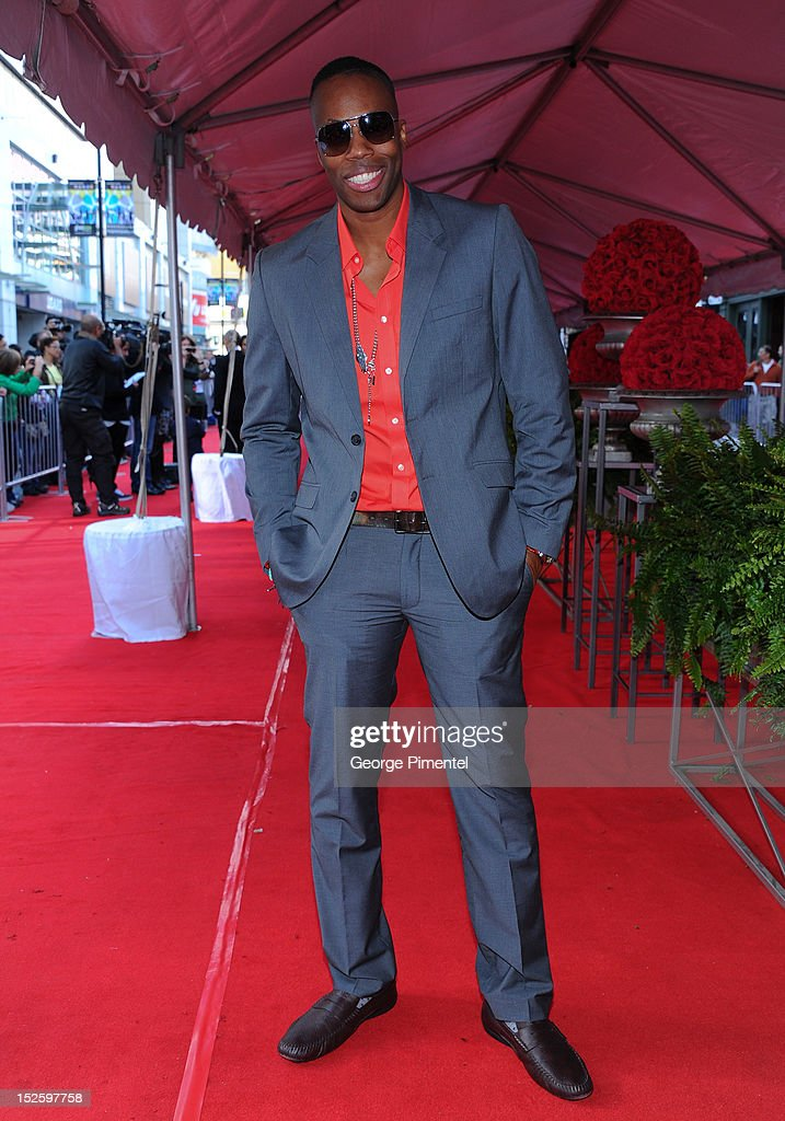 <a gi-track='captionPersonalityLinkClicked' href=/galleries/search?phrase=Kardinal+Offishall&family=editorial&specificpeople=709311 ng-click='$event.stopPropagation()'>Kardinal Offishall</a> attends the 2012 Canada's Walk of Fame Awards at Ed Mirvish Theatre on September 22, 2012 in Toronto, Canada.