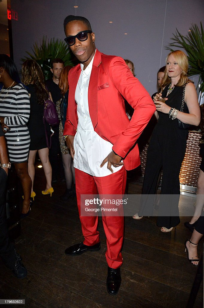 Kardinal Offishall attends the Interview Magazine, Sundance Selects and Mongrel Media celebrate the TIFF premiere screening of 'Blue is the Warmest Color' during 2013 Toronto International Film Festival on September 5, 2013 in Toronto, Canada.