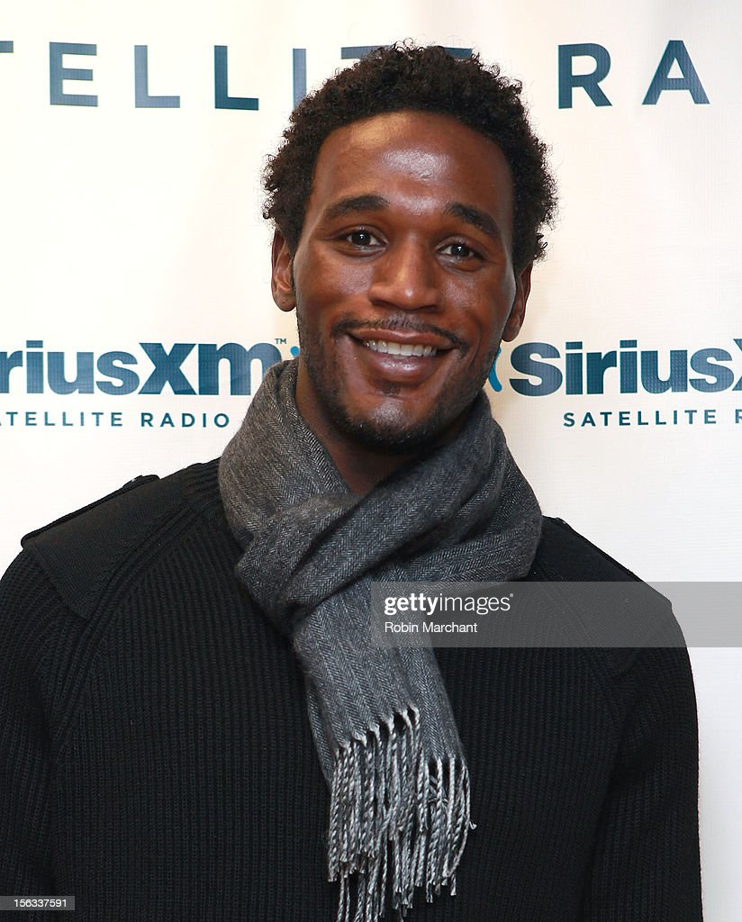 <a gi-track='captionPersonalityLinkClicked' href=/galleries/search?phrase=Kareem+Rush&family=editorial&specificpeople=202592 ng-click='$event.stopPropagation()'>Kareem Rush</a> visits the SiriusXM Studios on November 13, 2012 in New York City.