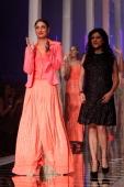 Kareena Kapoor and Namrata Joshipura on the runway during day five of Lakme Fashion Week Summer/Resort 2013 on March 26 2013 at Grand Hyatt in Mumbai...