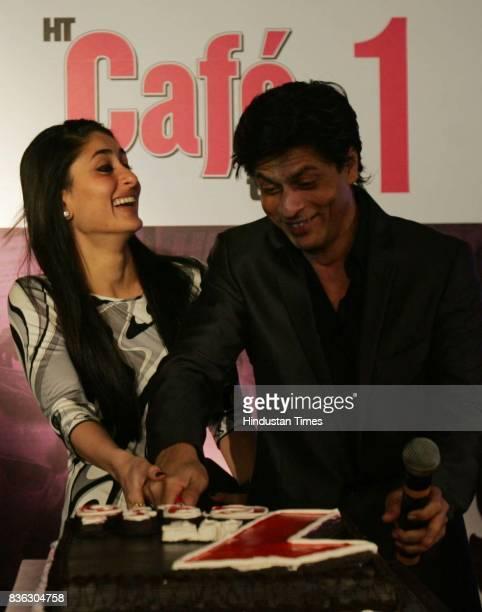 Kareena Kapoor and Shahrukh Khan at HT Cafe Awards