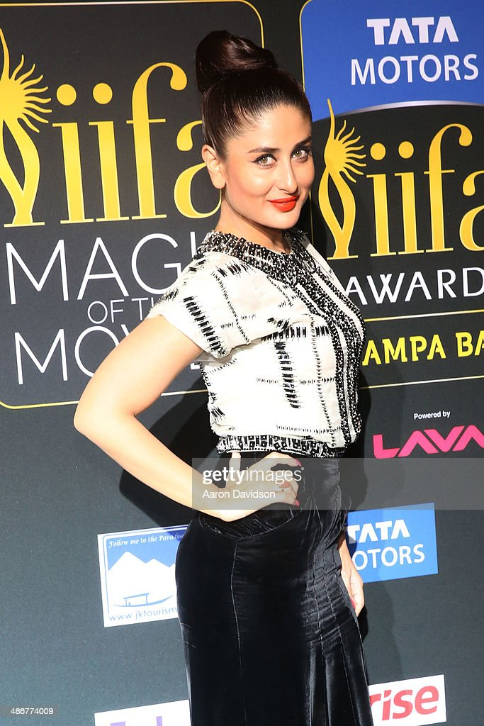 <a gi-track='captionPersonalityLinkClicked' href=/galleries/search?phrase=Kareena+Kapoor&family=editorial&specificpeople=855270 ng-click='$event.stopPropagation()'>Kareena Kapoor</a> arrives to the IIFA Magic of the Movies at MIDFLORIDA Credit Union Amphitheatre on April 25, 2014 in Tampa, Florida.