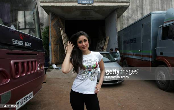 Kareena Kapoor at Mehboob Studios