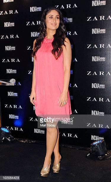 Kareena Kapoor at the launch of a Zara store in Mumbai on June 10 2010