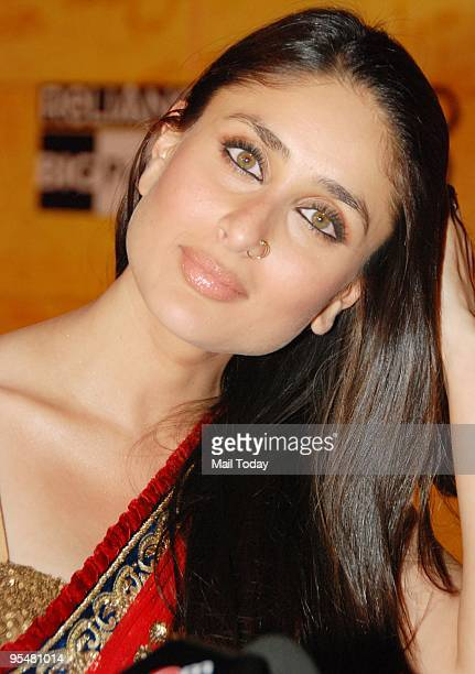 Kareena Kapoor at the premiere of the film 3 Idiots in Mumbai on Wednesday December 23 2009