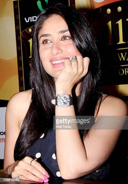 Kareena Kapoor at the voting weekend for The Indian International Film Awards at Hotel Marriott in Mumbai on March 4 2011