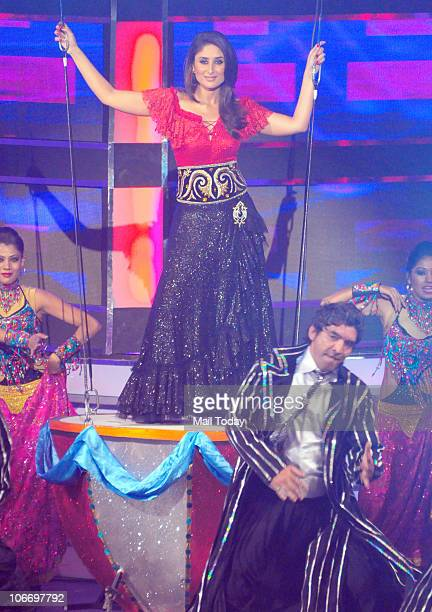 Kareena Kapoor performs during the Global Indian Music Awards function in Mumbai on Wednesday November 10 2010