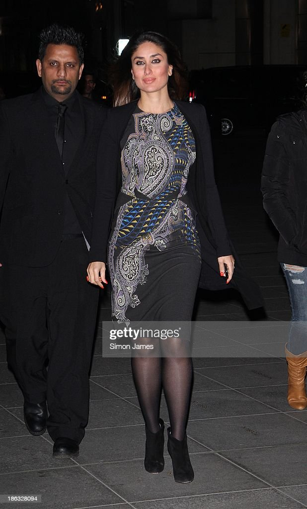 <a gi-track='captionPersonalityLinkClicked' href=/galleries/search?phrase=Kareena+Kapoor&family=editorial&specificpeople=855270 ng-click='$event.stopPropagation()'>Kareena Kapoor</a> sighting on October 30, 2013 in London, England.