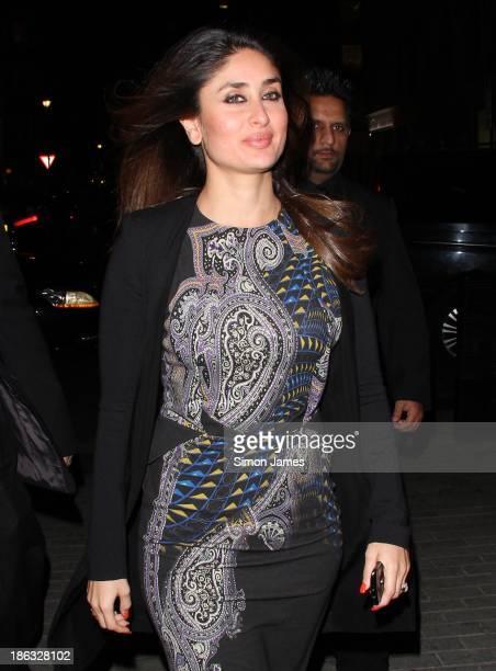Kareena Kapoor sighting on October 30 2013 in London England