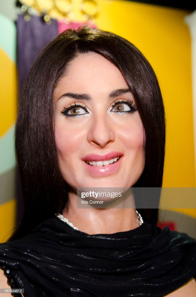 <a gi-track='captionPersonalityLinkClicked' href=/galleries/search?phrase=Kareena+Kapoor&family=editorial&specificpeople=855270 ng-click='$event.stopPropagation()'>Kareena Kapoor</a> wax figure is unveiled during the launch of the traveling Bollywood Exhibit at Madame Tussauds on December 4, 2012 in Washington, DC.