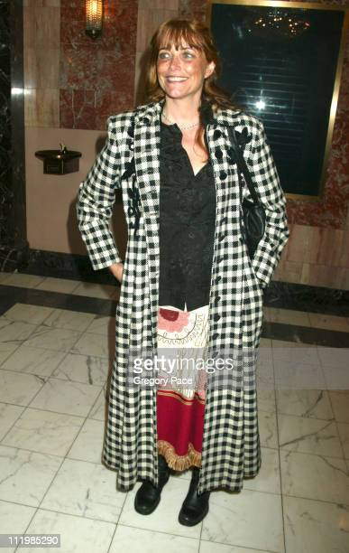 Karen Allen during Opening Night of 'The Boy From Oz' Arrivals and After Party at Imperial Theatre in New York City New York United States