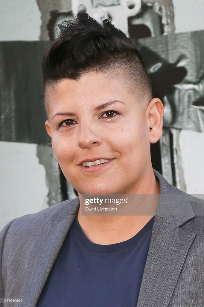 Karen Anzoategui arrives at the premiere of New Line Cinema's 'Lights Out' at the TCL Chinese Theatre on July 19 2016 in Hollywood California