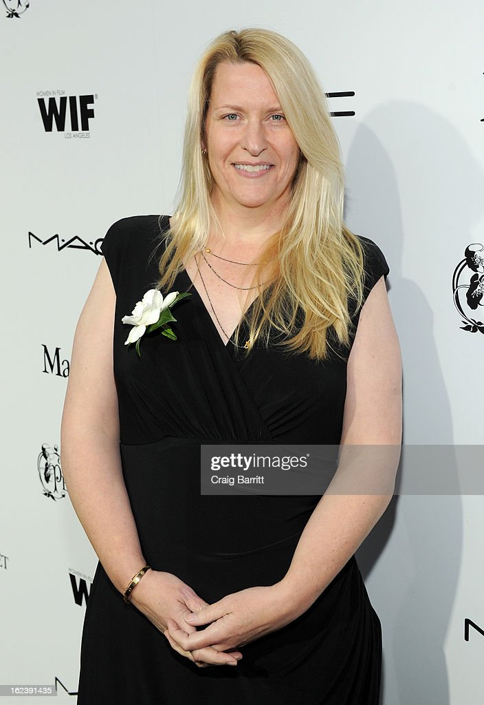 Karen Baker Landers attends the 6th Annual Women In Film Pre-Oscar Party hosted by Perrier Jouet, MAC Cosmetics and MaxMara at Fig & Olive on February 22, 2013 in Los Angeles, California.