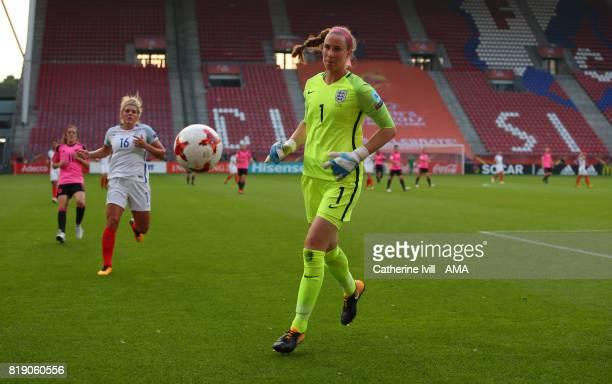 Karen Bardsley of England Women during the UEFA Women's Euro 2017 match between England and Scotland at Stadion Galgenwaard on July 19 2017 in...