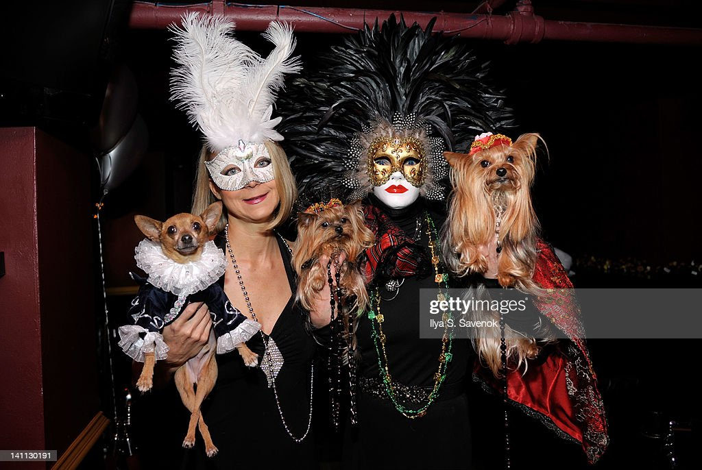 <a gi-track='captionPersonalityLinkClicked' href=/galleries/search?phrase=Karen+Biehl&family=editorial&specificpeople=5330953 ng-click='$event.stopPropagation()'>Karen Biehl</a> and Grace Forster attends Celebrity Catwalk: Mardi Paws Back In Black at Shadow on March 10, 2012 in New York City.
