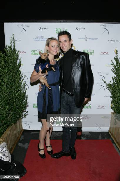 Karen Biehl and Matt Wayne attend Grand Opening of La Pomme at 37 W 26th St on September 17 2009 in New York City