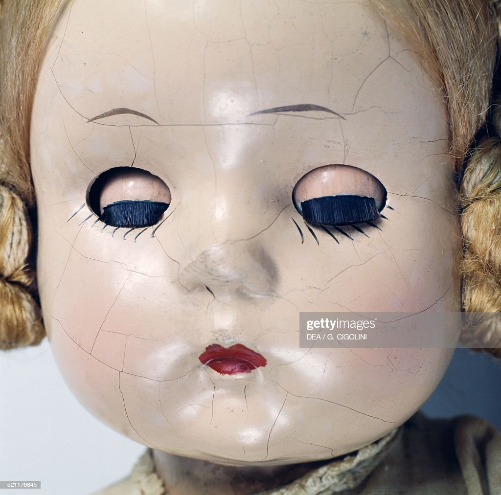 Karen bisque doll made by Madame Alexander United States of America 20th century Detail United States
