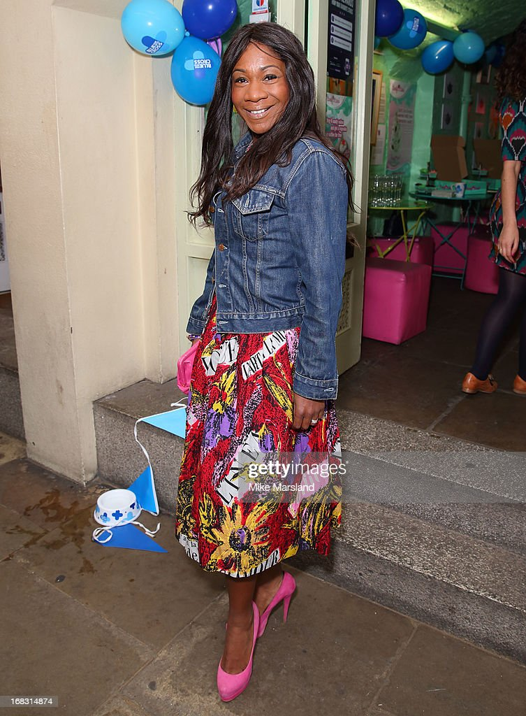 Karen Bryson attends the Blue Cross tea party on May 8, 2013 in London, England.