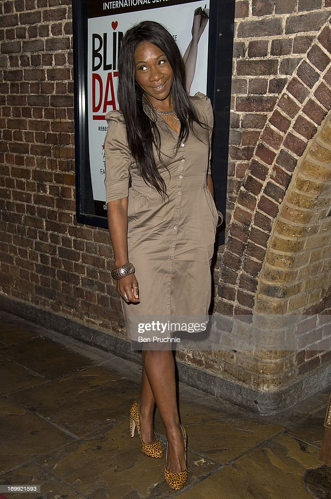 Karen Bryson attends the press night of 'Blind Date' at Charing Cross Theatre on June 4, 2013 in London, England.