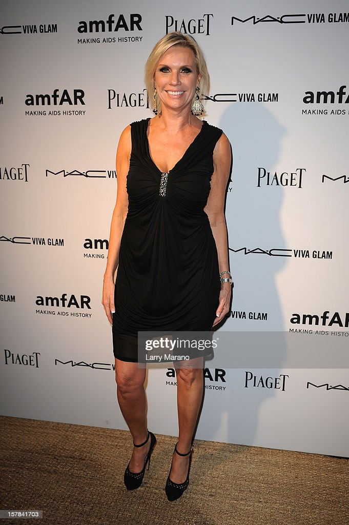 Karen Buglisi attends the amfAR Inspiration Miami Beach Party at Soho Beach House on December 6, 2012 in Miami Beach, Florida.