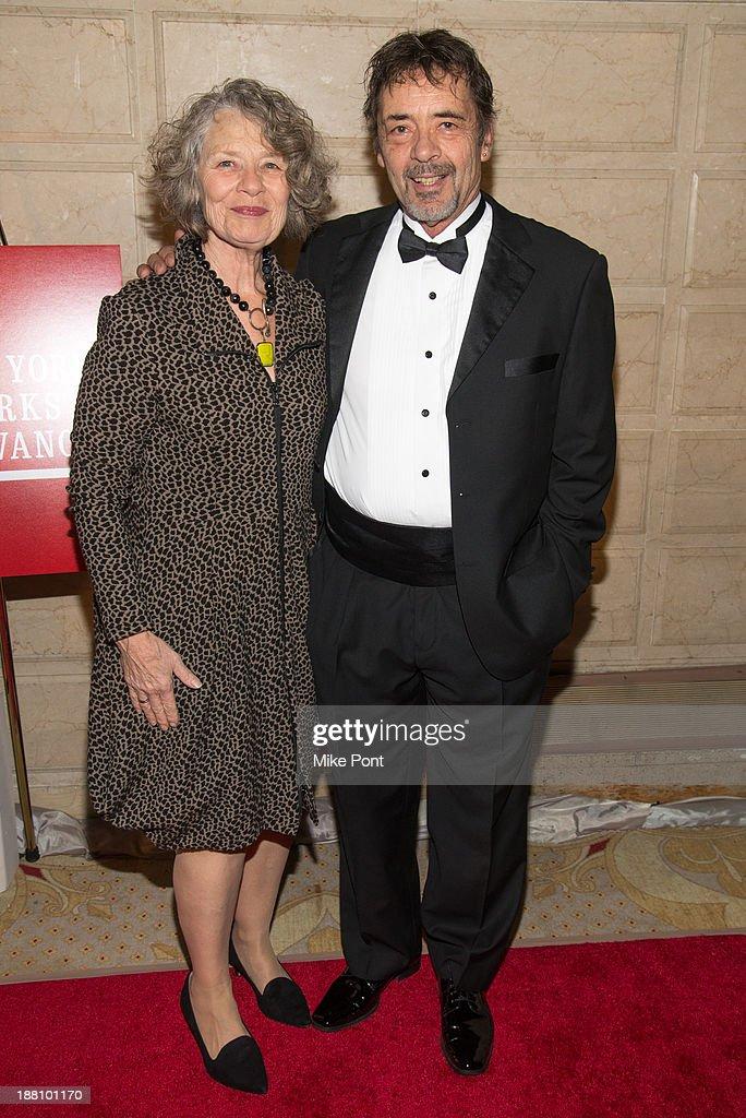 Karen Christensen and Paul Christensen attend the 20th New York Landmarks Conservancy's Living Landmarks Ceremony at The Plaza Hotel on November 14, 2013 in New York City.