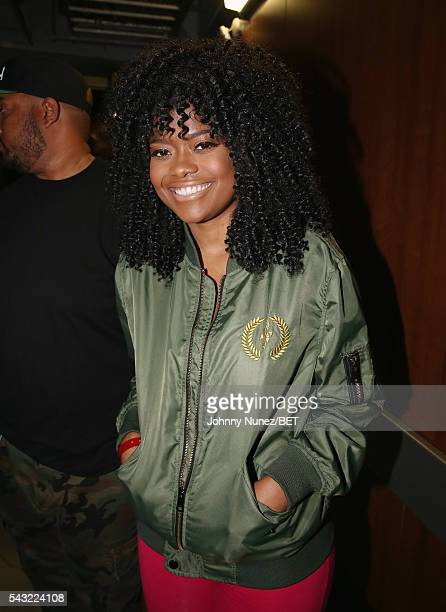 Karen Civil attends the 2016 BET Experience Staples Center Concert Presented by Sprite Performances by LIL WAYNE 2 CHAINZ TORY LANEZ A$AP FERG FETTY...