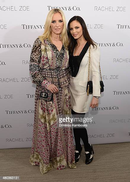 Karen Craig and Georgina Chapman attend the 'Living In Style Inspiration and Advice for Everyday Glamour' at Tiffany Co on March 24 2014 in New York...