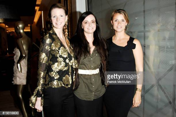 Karen Duffy Annie Churchill Albert and Allison Aston attend SAKS FIFTH AVENUE VALENTINO Host a Dinner to benefit SAVE VENICE at Saks Fifth Avenue on...